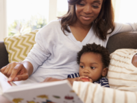 Inspiring a young child to love reading books can be one of the most daunting tasks as a parent.